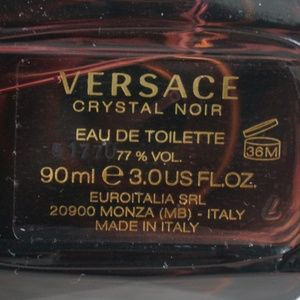 Versace Other - [SOLD] Versace Crystal Noir Eau de Toilette 3 oz